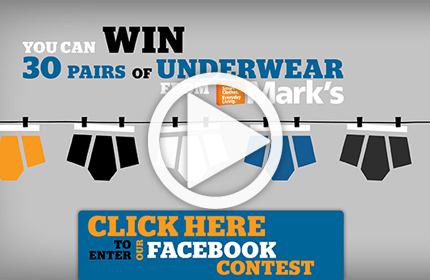 Mark's great underwear giveaway